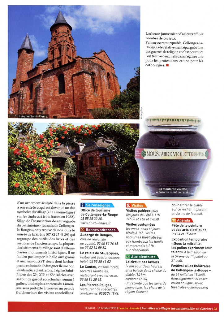 04 Pays du Limousin Juillet 2015