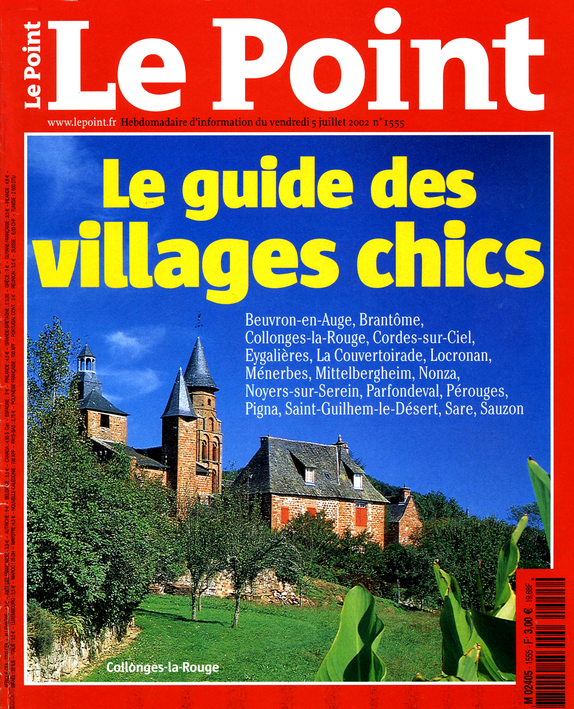 LE POINT Juill 2002